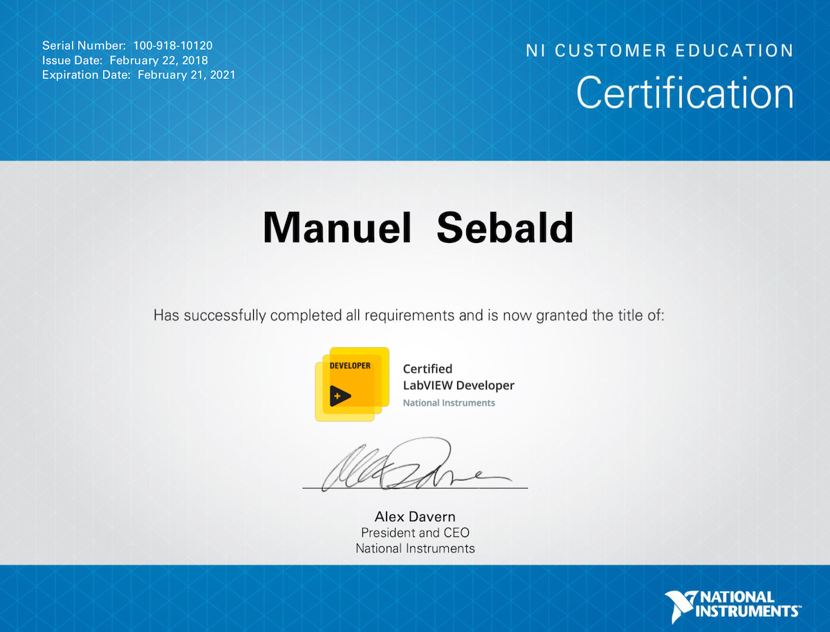 Journey To Cld Certification Hampel Software Engineering