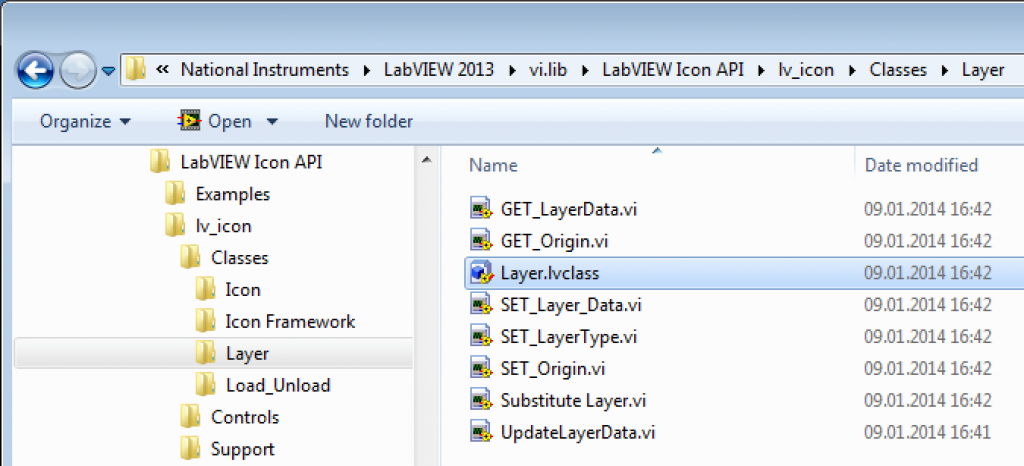 LabVIEW Icon API - Layer Class