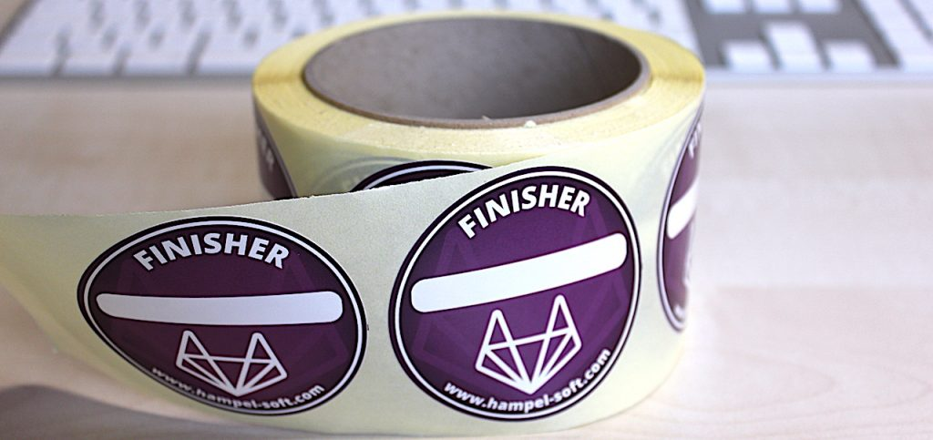 HSE Finisher Badge