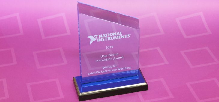 WUELUG receives NI User Group Innovation Award!