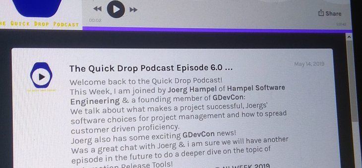 HSE on Air with the Quick Drop Podcast