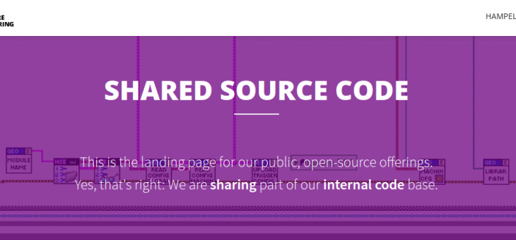 Our Code Is Your Code: Open Source